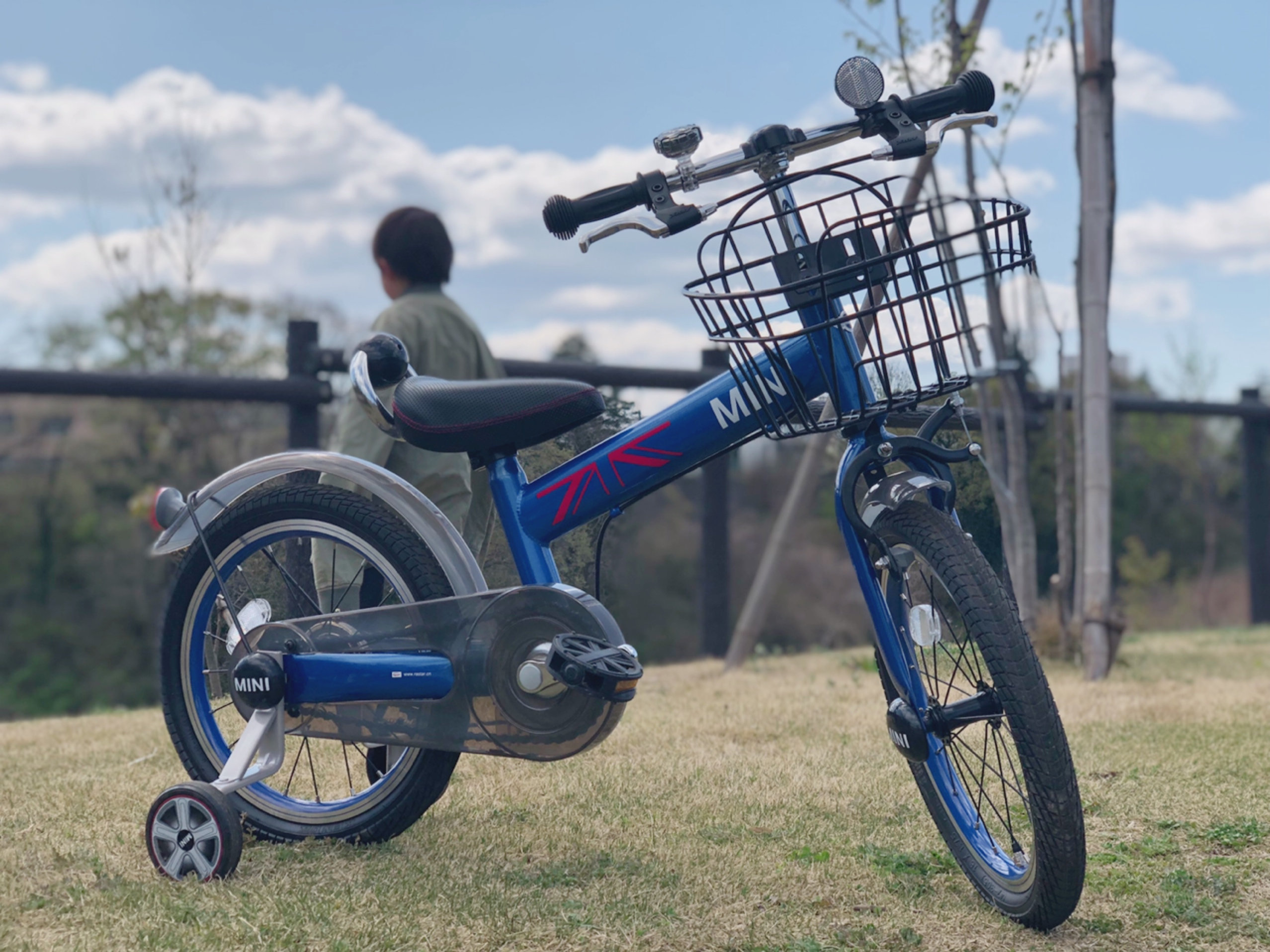 子供自転車の写真